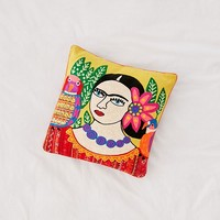 Flora Pillow   Urban Outfitters