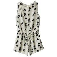Band Of Outsiders: Palm Tree Silk Romper