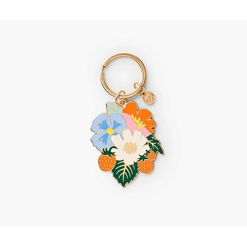 Strawberry Fields Keychain by Rifle Paper Co.