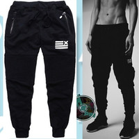Men Fashion Joggers Sport Harem Pants Mens Sport Sweatpants Jogging Pants [9221787588]