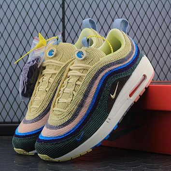 Sean Wotherspoon Nike Air Max 97 / 1 Hybrid AJ4219-400 Sport Running Shoes