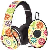 Tribal Sun Pattern Decal Skin for Beats Studio Headphones & Carrying Case by Dr. Dre
