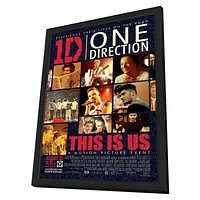 One Direction 11x17 Framed Movie Poster (2013)