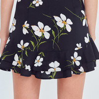 Kimchi Blue Floral Flippy Mini Skirt | Urban Outfitters