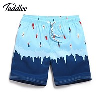 Men Beach Shorts Board Trunks Quick Dry Boxers