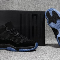"Air Jordan Retro 11 ""Cap And Gown"" Basketball Shoes Men Women 11s Sneakers High Quality With Shoes Box"