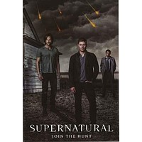 Supernatural TV Show Poster 24x36