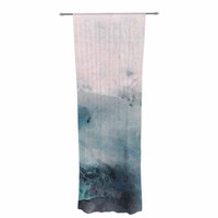 """Iris Lehnhardt """"Abstract Color"""" Pastel Painting Decorative Sheer Curtain"""
