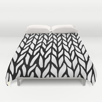 Hand Knitted Duvet Cover by Project M | Society6
