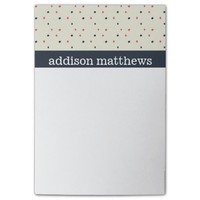 Classy Polka Dot Pattern Post-it® Notes