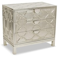 Brownstone Furniture Treviso Three Drawer Accent Chest