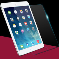 Tempered Reinforced Glass Screen Protector Film Case For iPad 2 3 4 /5 Air For iPad Mini 1 2 3 4 Clear Front Films + Retail Box