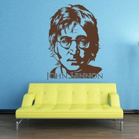 John Lennon Wall Decal