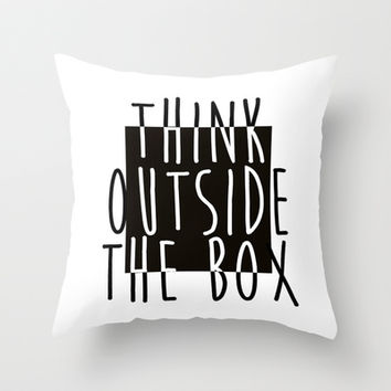 Quote Throw Pillow by Motivational   Society6