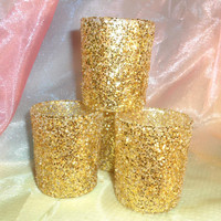 Wedding Votive Candle Holders for Weddings, Holiday Parties, New Years Eve 12 per order
