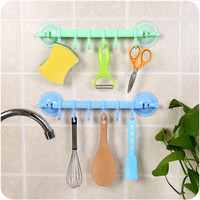 Plastic Innovative Kitchen Bathroom Hook Hanger [6395703492]