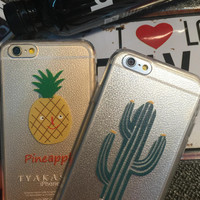 Pineapple Pattern Summer Fashion Style Lovely Women and Men Gift - Phone Case = 4697667588