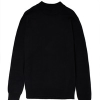 Selected Greaser Half Turtle Neck Jumper