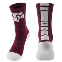 Mojo Texas A&M Aggies Champ 1/2-Cushion Performance Crew Socks - Women, Size: 9-11 (Red)