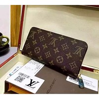 Tagre™ LOUIS VUITTON WOMEN LEATHER PURSE CLUTCH WALLETS