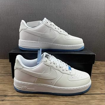 Morechoice Tuhy Nike Air Force 1 07 LX UV Reactive Low Sneakers Casual Skaet Shoes DA8301-100