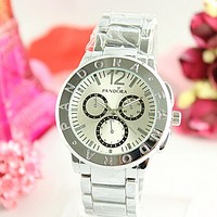 PANDORA Woman Men Trending Quartz Watch Business Watches Wrist Watch Silver