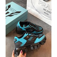 Prada Cloudbust Thunder Blud/ Black Sneakers