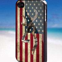Browning Deer Camo American Flag - For iPhone, Samsung Galaxy, and iPod. Please choose the option