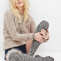 FOREVER 21 Cable Knit Sweater