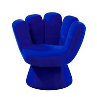 LumiSource Mitt Chair (Indigo Blue)