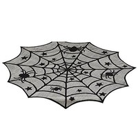 Spider Web Lace Table Cover