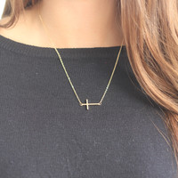 Dainty Cross Necklace