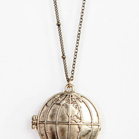 Urban Outfitters - Around The World Locket Necklace