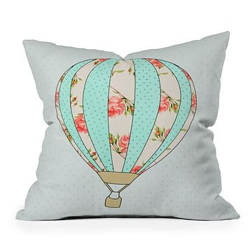 Allyson Johnson Fly Away With Me Throw Pillow