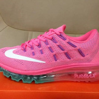 """NIKE"" fashionable mesh entire palm cushion running shoes"
