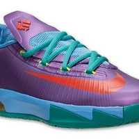 How To Buy Rugrats Nike Kevin Durant 6 GS 599477 500 Brand sneaker