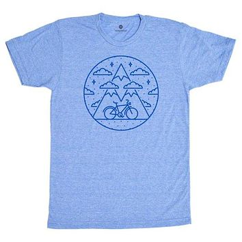 Mountain Bike 2 - Heather Blue