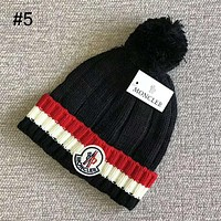 MONCLER 2018 autumn and winter new plus ball knit hat casual warm hat #5