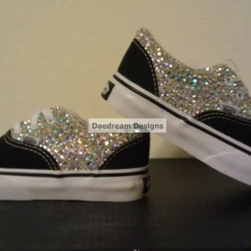 Custom Bling Vans Adult and Toddler Sizes Avail by DaedreamDesigns