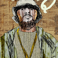 Schoolboy Q Poster  - Limited Edition of 100