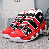NIKE AIR MORE UPTEMPO Women Fashion Basketball Sneakers Sport Shoes