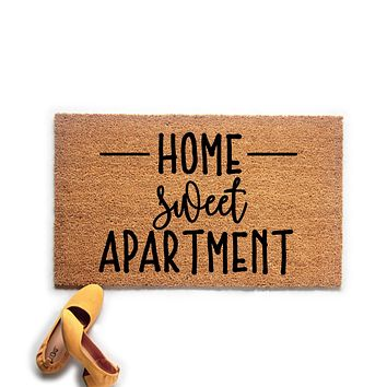Home Sweet Apartment Doormat