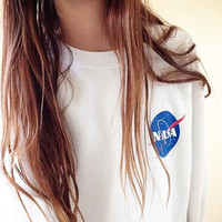 NASA Sweatshirt  - Tumblr Jumper - Funny shirt - I need my space hoodie - Planet - Moon - Astronaut - Gift Ideas- Best Friends Shirt -