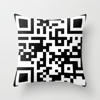 Scan It Throw Pillow by Beach Bum Pics