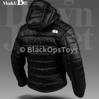 """Magic Cube 1/6 North Face Style Ultralight Black Down Jacket """"The Division"""""""