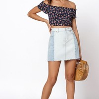 PacSun Seamed Mini Skirt at PacSun.com