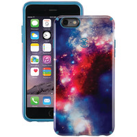 SPECK 73804-C073 iPhone(R) 6 Plus/6s Plus CandyShell Inked(R) Case (SuperNova Red/Tahoe Blue)