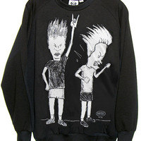 Beavis And Butthead Organic French Terry Sweatshirt