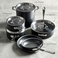 All-Clad NS1 Nonstick Induction 10-Piece Cookware Set
