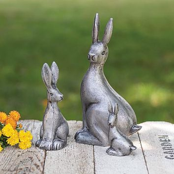 Set of 3 Cottontail Rabbits